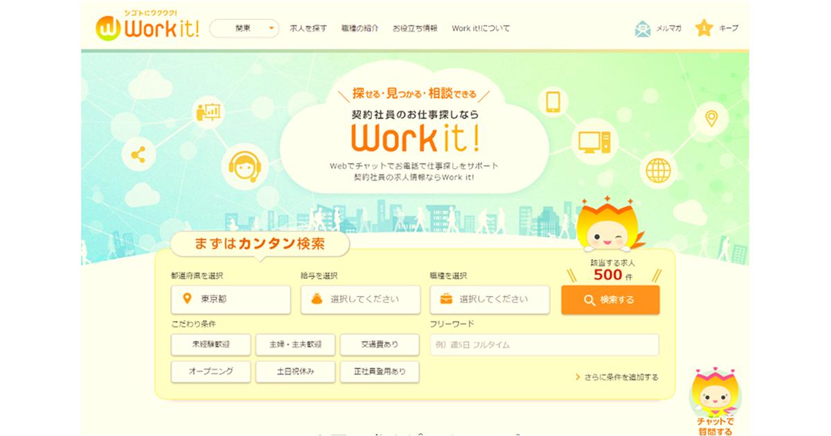 Work it! PC画面
