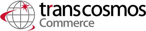transcosmos Commerce ロゴ