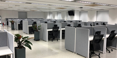 プサン第二センター 業務室