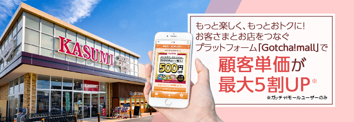 "Raised Average Customer Spend by up to 50% through ""Gotcha!mall"""