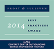 Japan Contact Center Outsourcing Service Provider of the Year