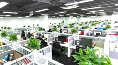 上海第四センター フロア